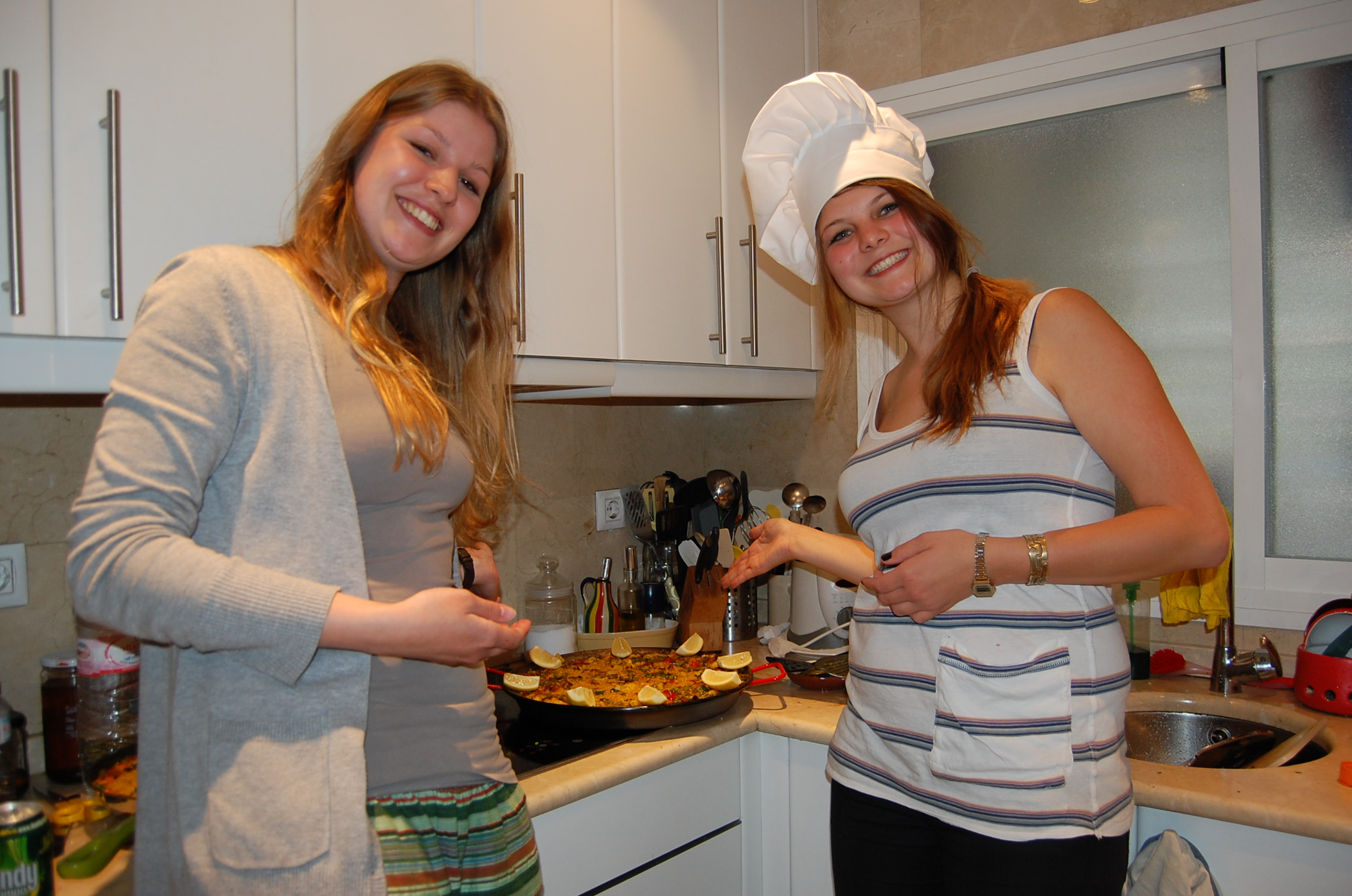 Au-pair in Spanien - Paella