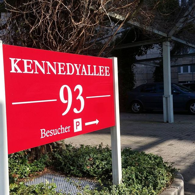 Unsere neue Adresse: Kennedyallee 93 #gopair
